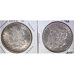 1888 & 1888-O MORGAN DOLLARS