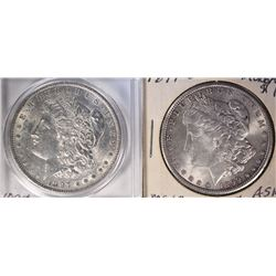 1897 & 1899-O MORGAN DOLLARS