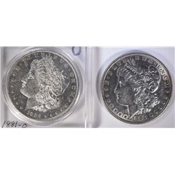 1881-O & 1888 MORGAN DOLLARS