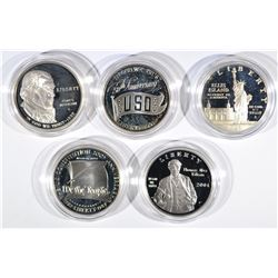 5 Commemorative Sets