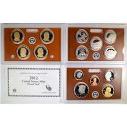 2012 US Proof Set.