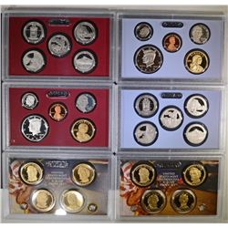 2010 Proof Set & 2010 Silver Proof Set.