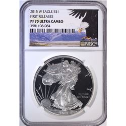 2015-W AMERICAN SILVER EAGLE NGC PF70
