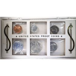 1960 U.S. MINT SET in CELLO & PLASTIC HOLDER