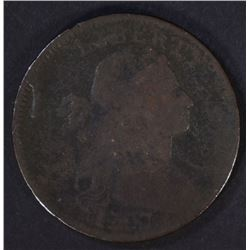 1797 DRAPED BUST LARGE CENT NO STEMS