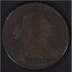 1800 DRAPED BUST LARGE CENT  FINE