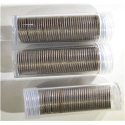 3-ROLLS OF CIRC LIBERTY NICKELS