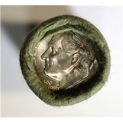 SHOTGUN WRAPPED ROLL OF 1955-S ROOSEVELT DIMES