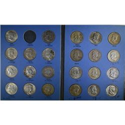 FRANKLIN HALF DOLLAR SET: