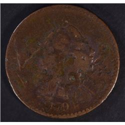 1794 LIBERTY CAP LARGE CENT  G