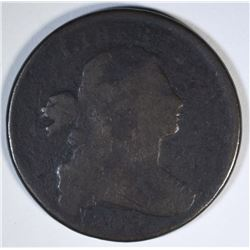 1803 S-259 DRAPED BUST LARGE CENT  G