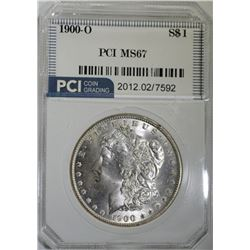 1900-O MORGAN DOLLAR PCI SUPERB