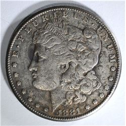 1881-CC MORGAN DOLLAR F/VF
