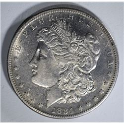 1884-S MORGAN DOLLAR AU NICE