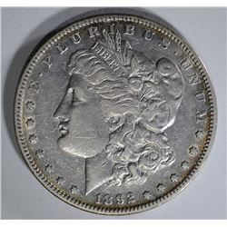 1892-S MORGAN DOLLAR AU NICE