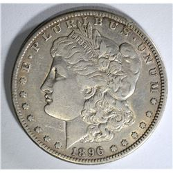 1896-S MORGAN DOLLAR XF/AU