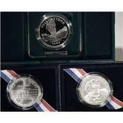 3-Silver  Commemoratives