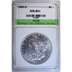 1880-O MORGAN DOLLAR, PCSS CHOICE BU+