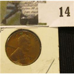 1931 D Lincoln Cent, VF.