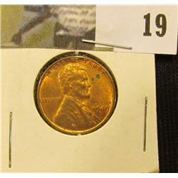 1949 D Lincoln Cent, mostly Red BU.