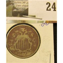 1868 U.S. Shield Nickel.