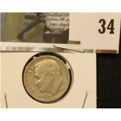 1949 S Scarce Date Silver Roosevelt Dime.