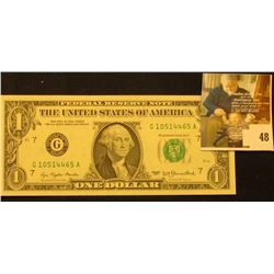 Series 1977 One Dollar Federal Reserve Note, CU.