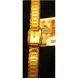Modern Bulova watch (T7 on case, manufacture date 1997), with RJ Reynolds logo attached, retirement