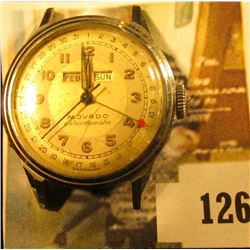 RARE Movado Calendomatic watch, triple calendar watch, similar watches are selling for $500-$900 on