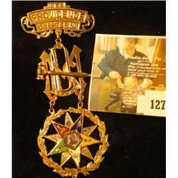 Eastern Star Worthy Matron Lodge Jewel – LARGE OES (Order of Eastern Star) Providence Chapter No. 1