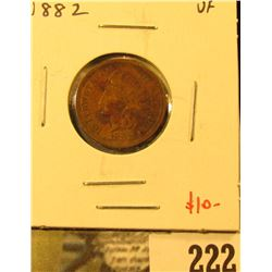 1882 Indian Cent, VF, value $10