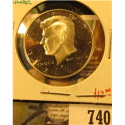 2005-S Silver PROOF Kennedy Half Dollar, value $13