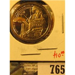 2014-S PROOF Native American Dollar, value $10