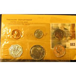 1964 P U.S. Silver Proof Set. Original as issued.