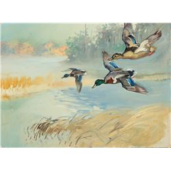 George Browne -Collection of 2 Paintings