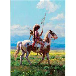 Martin Grelle -Buffalo Headdress