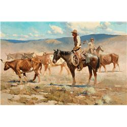 James Reynolds -Cowboys and Steers