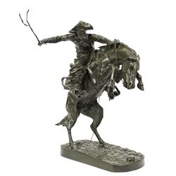 Frederic Remington -Bronco Buster
