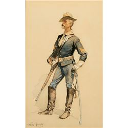 Frederic Remington -A Typical Trooper