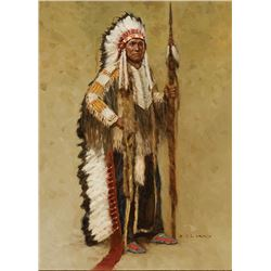 Z.S. Liang -Minicanjou Sioux Chief