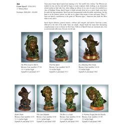 Grant Speed -17 Bronze Busts