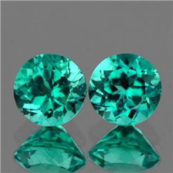 Natural  Paraiba Green Blue Apatite 7.00 mm - VVS