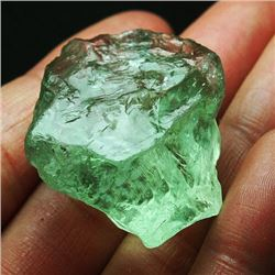 Natural Green Amethyst  Rough 131 Carats