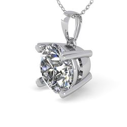 1 CTW VS/SI Diamond Designer Necklace 18K White Gold - REF-274T5M - 32352