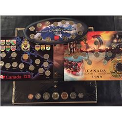 4 Cdn Coin Sets