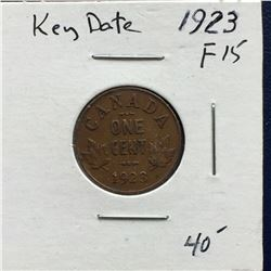 "1923 Canada One Cent ""Key Date"""