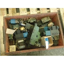 Lot of Misc Hydraulic Valves