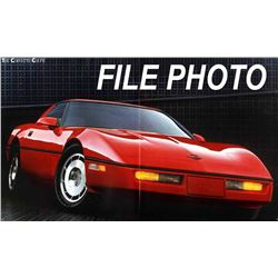1989 Showroom Condition Corvette