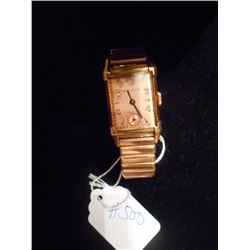 Pink Gold Antique/ Vintage Bulova Watch