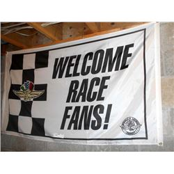 Indy Motor Speedway large Racing Flag 4x6